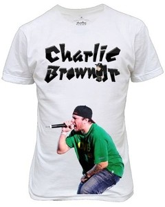 Camiseta Ou  Baby Look Charlie Brown Jr Chorão