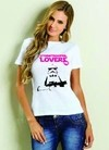 Camiseta Baby Look Star Wars I Love Stormtrooper