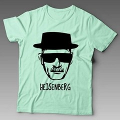 Camiseta Breaking Bad Heisenberg Walter White Personalizada