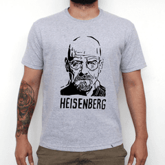 Camiseta Cinza Mescla breaking bad heisenberg