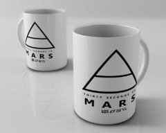 Caneca 30 Seconds to Mars - banda de rock