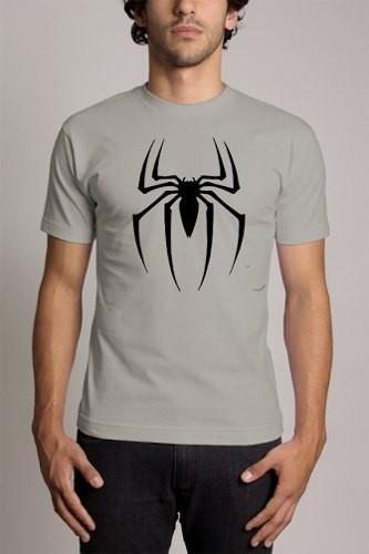 edb44325a Camiseta Cinza Homem Aranha Spider Man - Monoloco Store
