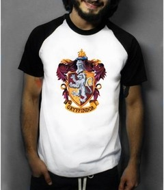 Camiseta Raglan Manga Curta Harry Potter