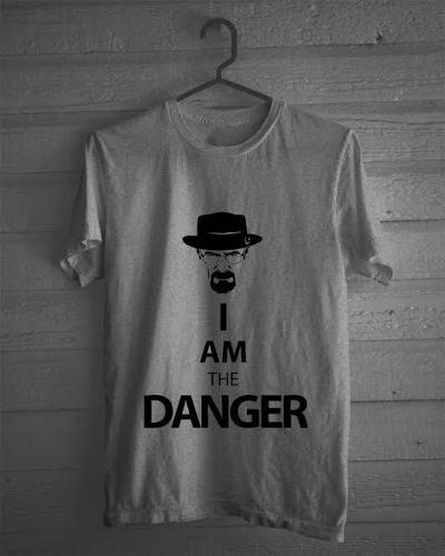 cda33a9f7 Camiseta Mescla Breaking Bad Heisenberg Series Danger 1