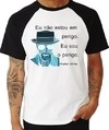 Camiseta Raglan Breaking Bad Heisenberg Walter White