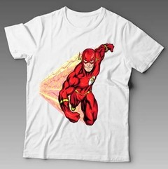 Camiseta The Flash Série Animada Quadrinhos