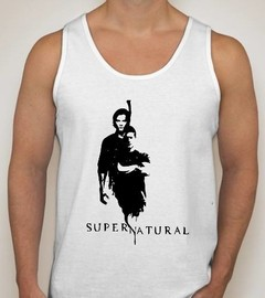 Camiseta Regata Supernatural Winchester Séries