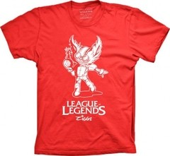 Camiseta LEAGUE OF LEGENDS ZIGGS - Monoloco Store