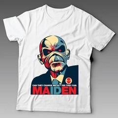 Camiseta Banda De Rock N' Roll Iron Maiden