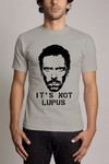Camiseta Cinza Doctor House It's Not Lupus
