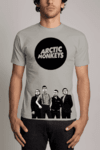 Camiseta Banda Arctic Monkeys Rock n' Roll
