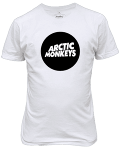 Camiseta Arctic Monkeys Banda de rock N' Roll