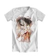 Camiseta Branca - Attack on Titan Eren