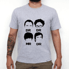 Camiseta Cinza Mescla The Big Bang Theory Serie