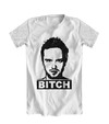 Camiseta Branca - Breaking Bad Jesse Pinkman Bitch