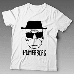 Camiseta heisenberg breaking bad simpsons