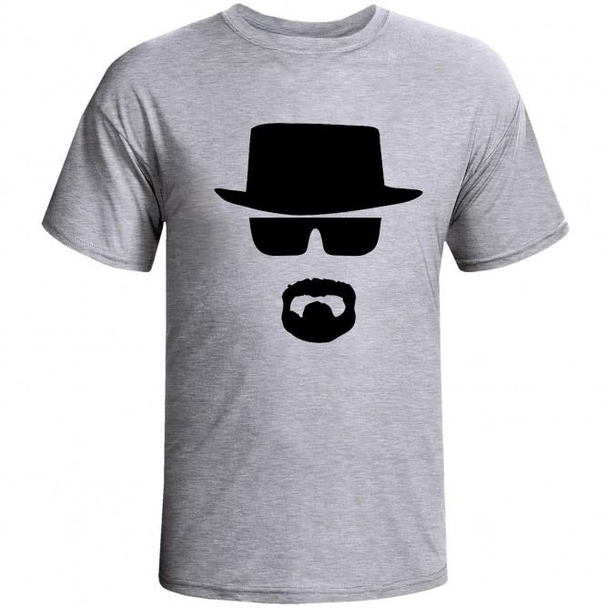 994340c2a Camiseta Cinza Mescla - Breaking Bad Heisenberg