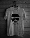 Camiseta Cinza Mescla - Breaking Bad: Heisenberg