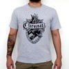 Camiseta Cinza Mescla - Harry Potter Corvinal