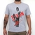 Camiseta cinza mescla the walking dead Daryl Dixon