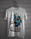 Camiseta Branca - Minecraft Like a Boss