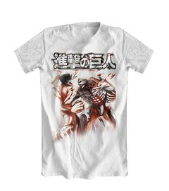 Camiseta Shingeky no Kyojin Attack on Titan