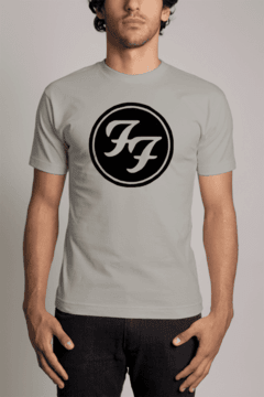 Camiseta Foo Fighters Banda de Rock