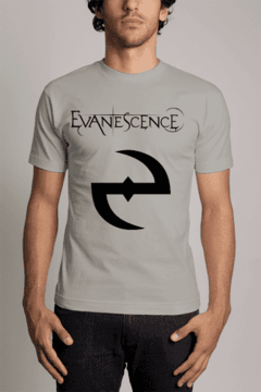 Camiseta Evanescence Banda de rock n' roll