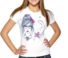 Camiseta Baby Look Girl
