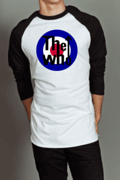 Camiseta Raglan Manga Longa The Who