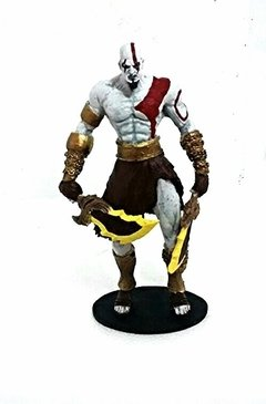 Estatueta de resina Kratos God of War Deus da Guerra - comprar online