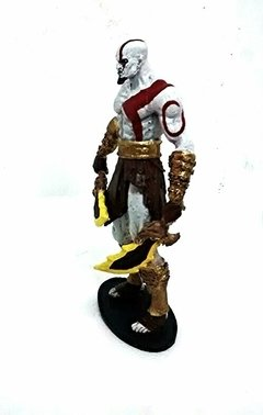 Estatueta de resina Kratos God of War Deus da Guerra - Monoloco Store