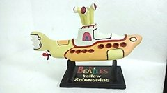 Yellow Submarine - The Beatles Em Resina - Submarino Amarelo - Monoloco Store
