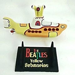 Yellow Submarine - The Beatles Em Resina - Submarino Amarelo - comprar online