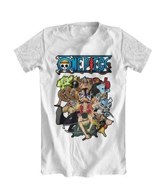 Camiseta Branca - One piece