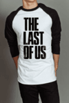 Camiseta Raglan Manga Longa The Last of Us