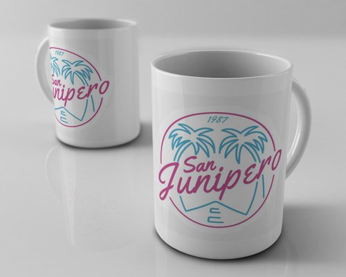 Caneca Black Mirror San Junipero Exclusiva