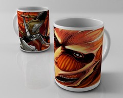 Caneca Shingeki no Kyojin Attack on Titan - Titã Colossal