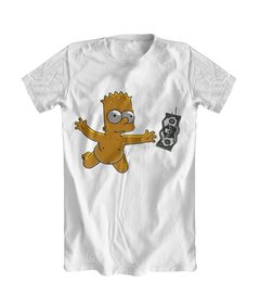 Camiseta Bart Simpson Nirvana