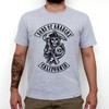 Camiseta Cinza Mescla - Sons of Anarchy