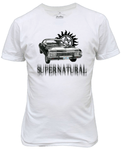 Camiseta Supernatural Impala 1967