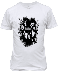Camiseta The Beatles clássico Banda de rock n' roll