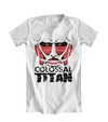 Camiseta Branca - Attack on Titan: Titã Colossal