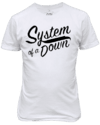 Camiseta System of a down Banda de rock n' Roll