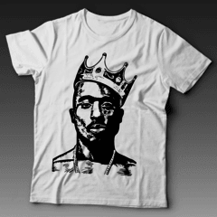 Camiseta 2 PAC Rap