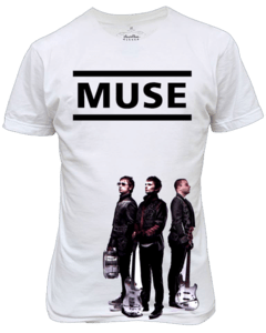 Camiseta Muse Banda de Rock