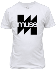 Camiseta Muse Banda de rock n' Roll