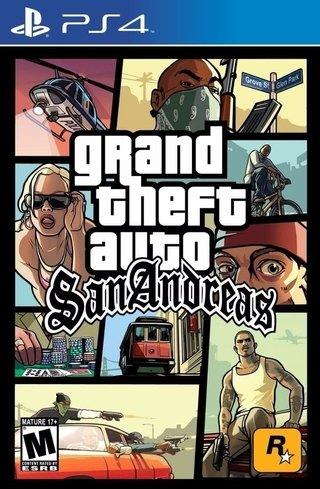 Juego Digital Ps4 Gta Grand Theft Auto San Andreas