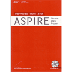 ASPIRE INTERMEDIATE - TEACHER´S BOOK WITH CLASSROOM AUDIO CD