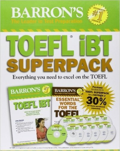 TOEFL IBT SUPERPACK EVERYTHING YOU NEED TO EXCEL ON THE TOEFL